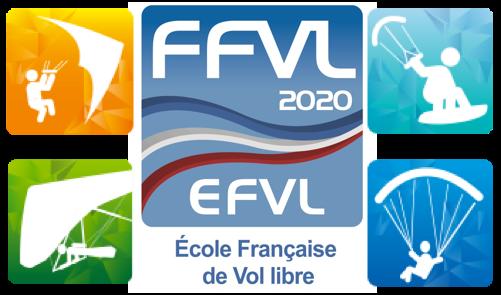Parapente Lot Corrèze Dordogne FFVL 2020